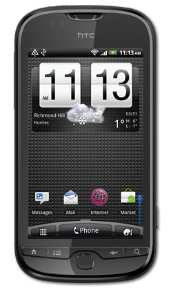HTC Panache from Mobilicity