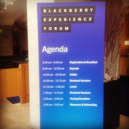 Blackberry 10 Experience Forum