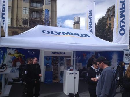 Olympus Camera Tent