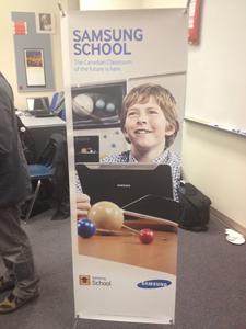 Samsung School Banner