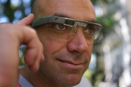google glass broadcasting