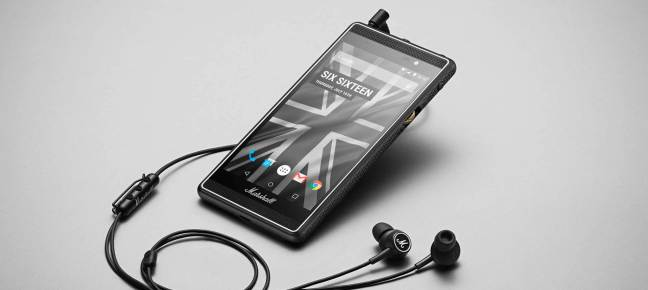 marshall london android smartphone