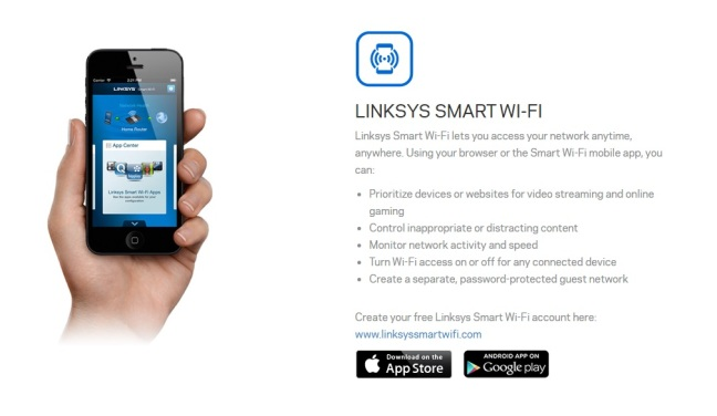 Linksys smart wifi