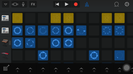 Examples of music made with GarageBand Live Loops