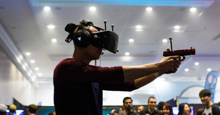 CVR is the premier event to experience groundbreaking new virtual and augmented reality technology